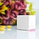 Białe pudełeczka na słodkości 10sztuk PUDP8