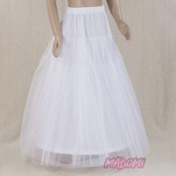 Tiulowa halka pod sukienkę komunijną HK1