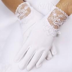 Rękawiczki do Komunii Świętej pełne RK85