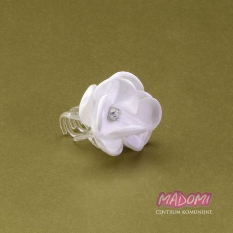 Przypinki do włosów kwiatuszek z cyrkonią