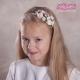 Opaski do włosów z kwiatuszków jak żywe OP17