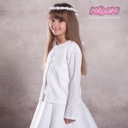 Sweterek komunijny dla dziewczynki SW25