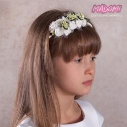 Opaska do włosów z kwiatuszkami jak żywe OP19