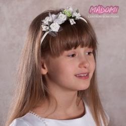 Opaski do włosów z kwiatuszkami jak żywe OP43