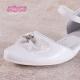 Obuwie komunijne dla dziewczynek białe OM715