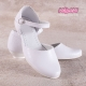 Klasyczne pantofelki komunijne dla dziewczynek OM700