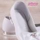 Buty komunijne dla dziewczynki baleriny OM800
