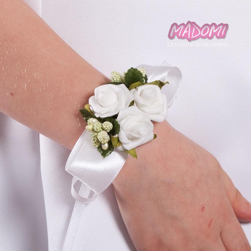 05a4870754 Bransoletki na rękę z kwiatuszkami jak żywe BR02