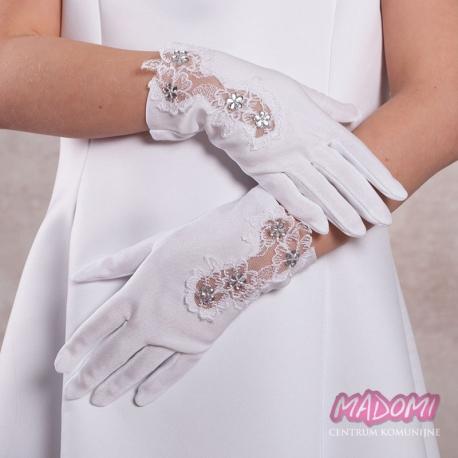 Rękawiczki komunijne pełne RK29