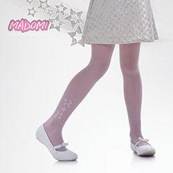 Rajstopy dziewczęce białe Knittex Marika R02
