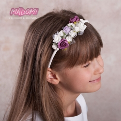 Opaski do włosów jak żywe z dodatkiem fioletu OP22