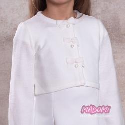 Bolerko. sweterek komunijny dla dziewczynki SW26