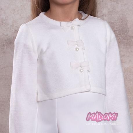 Sweterek komunijny dla dziewczynki SW26