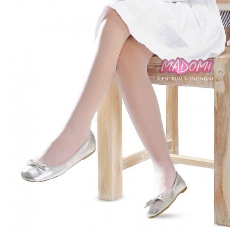 Białe rajstopy dziewczęce Knittex Ala R16