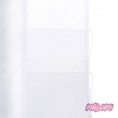 Organza Obszywana, biała 0,38 x 9m OR29