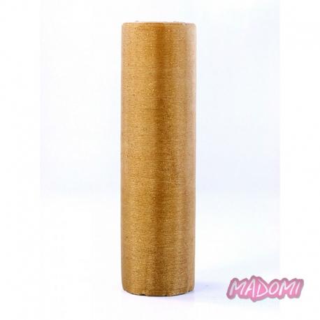 Organza Glittery szerokość 16cm, długość 25m.