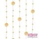 Girlandy perłowe o długości 1.3 m. 5 szt. GP23