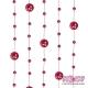 Girlandy perłowe o długości 1.3 m. 5 szt. GP14