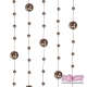 Girlandy perłowe o długości 1.3 m. 5 szt. GP10