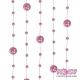 Girlandy perłowe o długości 1.3 m. 5 szt. GP26