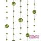 Girlandy perłowe o długości 1.3 m. 5 szt. GP8