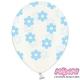 Balony Crystal Clear, rozmiar 30 cm. kwiatuszki SB14C-227-099B