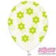 Balony Crystal Clear, rozmiar 30 cm. kwiatuszki SB14C-227-099G