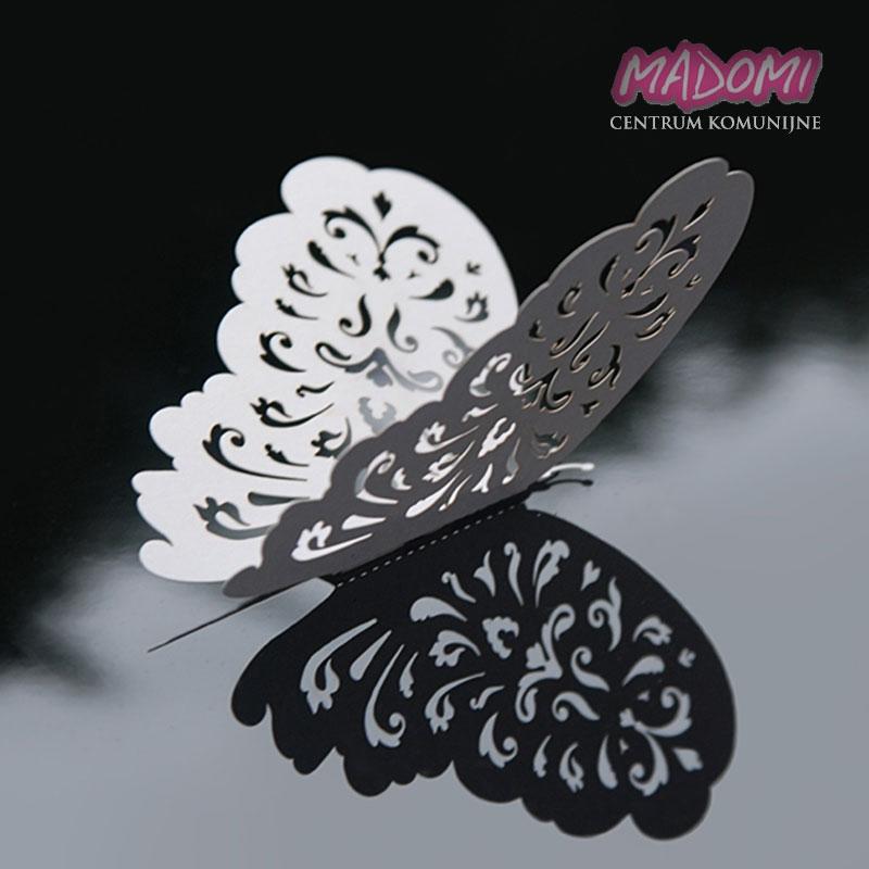 Motylki Dekoracyjne Wycinane Laserowo 10szt Mo Centrum