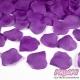 Płatki róż z materiału, kolor Śliwkowy (105)