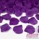 Płatki róż z materiału, kolor Ciemnośliwkowy (105C)