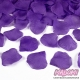 Płatki róż z materiału, kolor Fioletowy (014)