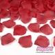 Płatki róż z materiału, kolor Czerwony (007)
