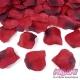 Płatki róż z materiału, kolor Czerwony (007B)