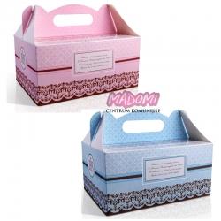 Pudełko na ciasto komunijne dla gości 10 sztuk PUDCS6