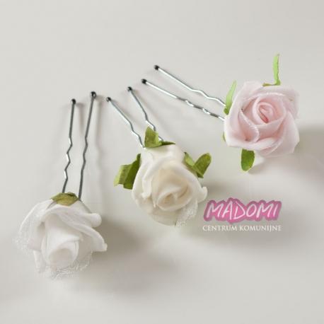 Szpilki do włosów z kwiatuszkami jak żywe model SM08