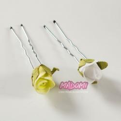 Szpilki do włosów z kwiatkami jak żywe model SM11