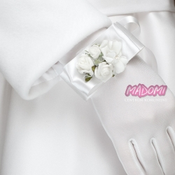 Opaska na rękę z kwiatuszkami jak żywe bransoletka BR03
