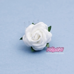 Przypinka do włosów z kwiatuszkiem jak żywy żabka WP11