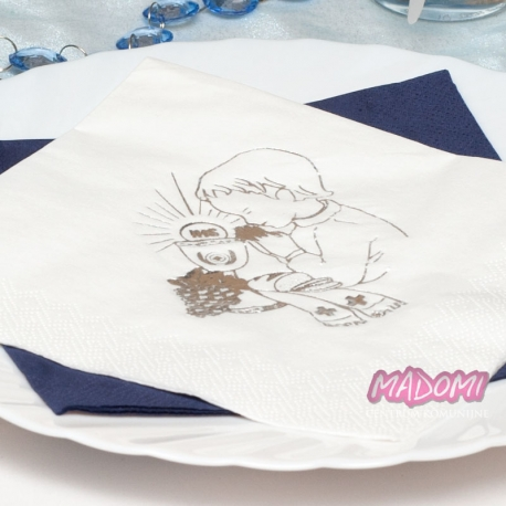 Serwetki papierowe 3 warstwowe dla chłopca SKC