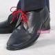 Granatowe obuwie komunijne dla chłopca OM12