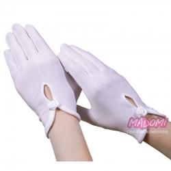 Rękawiczki komunijne pełne RKC31