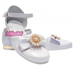 Buty komunijne dla dziewczynki obuwie dziewczęce OM676