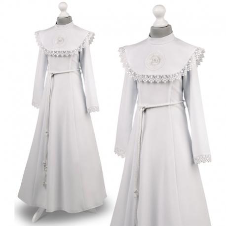 Sukienka komunijna alba sukienki komunijne alby model Celinka 26