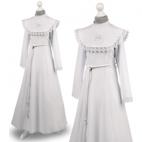 e99178fe3c Sukienka komunijna alba sukienki komunijne alby model Celinka 26BI