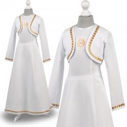 Alba sukienka komunijna Celinka ZŁ24
