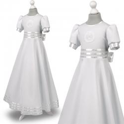 Sukienka komunijne alba sukienki komunijne alby model Marta 22BI