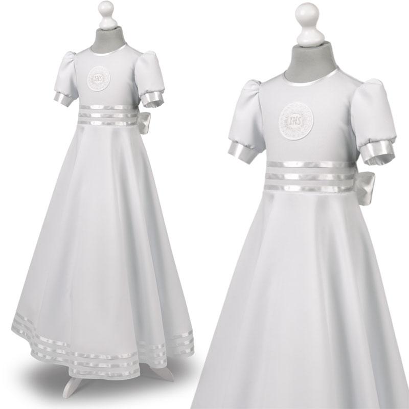 3c071e6dff Sukienka komunijna alba sukienki komunijne alby model Marta 22BI
