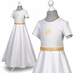 Sukienka komunijne alba sukienki komunijne alby model Marta 25ZL