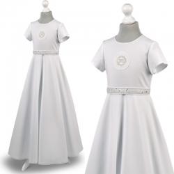Sukienka komunijne alba sukienki komunijne alby model Marta 25SR