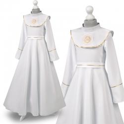 Sukienka komunijne alba sukienki komunijne alby model Zuzia49ZL